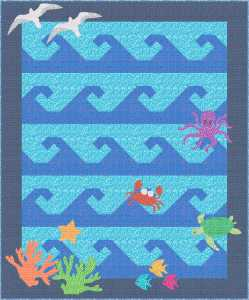 Deep Blue Sea Quilt Pattern